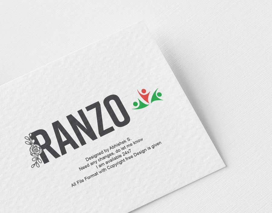 """Intrarea #63 pentru concursul """"Ranzo Logo"""""""