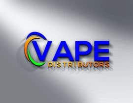#163 for Logo Design - Vape Distributors af DatabaseMajed