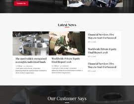 nº 16 pour Wordpress website for machinery business par chiku789