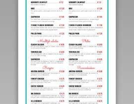 #26 for Design a menu based on the current developed website design by fslkarim