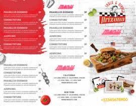#21 for Design a menu based on the current developed website design by badriaabuemara