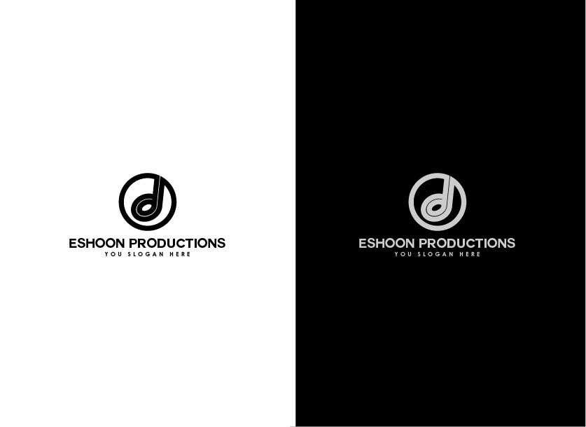 "Penyertaan Peraduan #37 untuk I need a logo designed. ""Eshoon Productions "" Details ( Music , Entertainment & Event planning Company )"