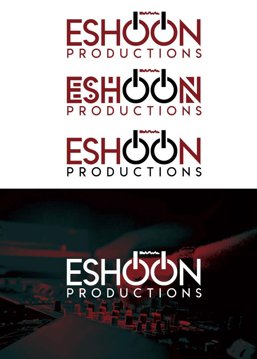 "Penyertaan Peraduan #33 untuk I need a logo designed. ""Eshoon Productions "" Details ( Music , Entertainment & Event planning Company )"