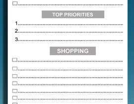 #10 untuk design a Print Ready DL size Daily Planner oleh FreelancerAnis