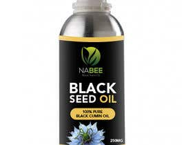 #75 for Design a logo and mock up label design  for black seed oil by colorss