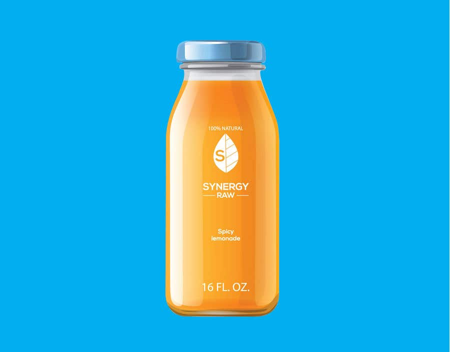Penyertaan Peraduan #151 untuk Design of a logo and label for a juice bottle / company