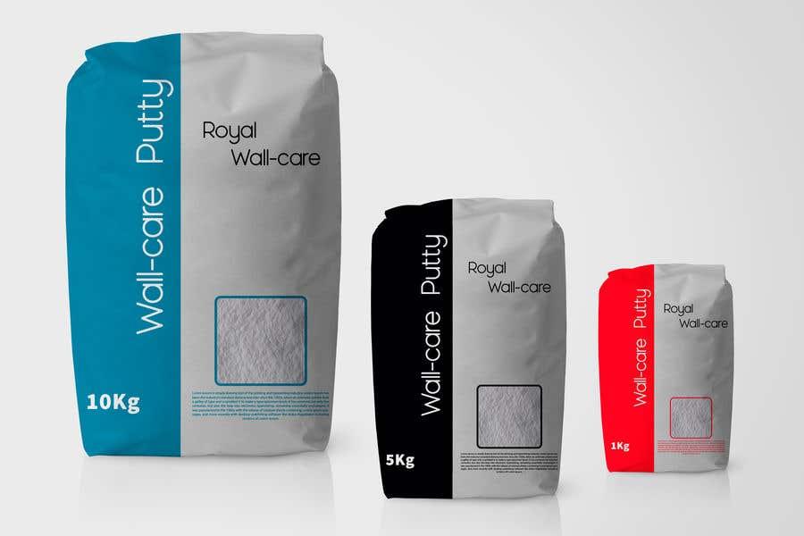 Penyertaan Peraduan #5 untuk Design a creative packing cover for Wall care putty