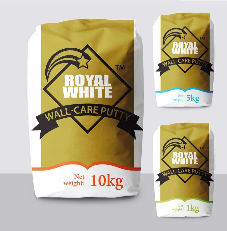 Penyertaan Peraduan #6 untuk Design a creative packing cover for Wall care putty