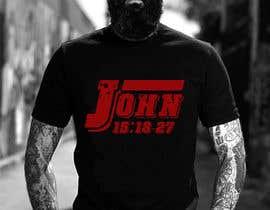 #28 for John 15:18-27 T-shirt design by Rezaulkarimh