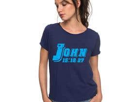 #31 for John 15:18-27 T-shirt design by Rezaulkarimh