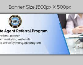 "#1 untuk Need website banner for ""Real Estate Agent Referral Program"" oleh noorulaminnoor"