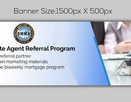 """nº 1 pour Need website banner for """"Real Estate Agent Referral Program"""" par noorulaminnoor"""
