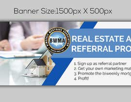 "Nro 2 kilpailuun Need website banner for ""Real Estate Agent Referral Program"" käyttäjältä noorulaminnoor"