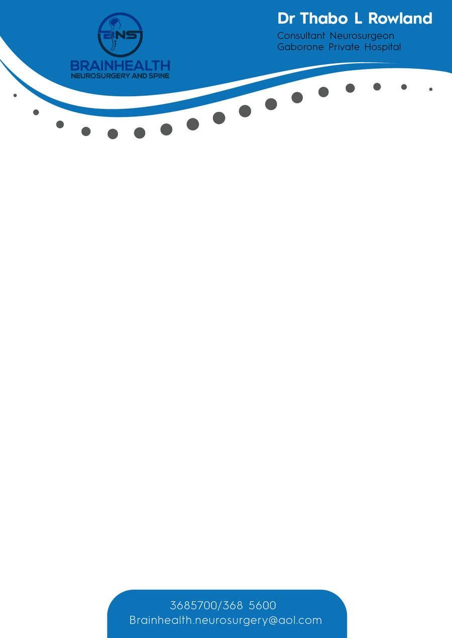 Proposition n°22 du concours letterhead design