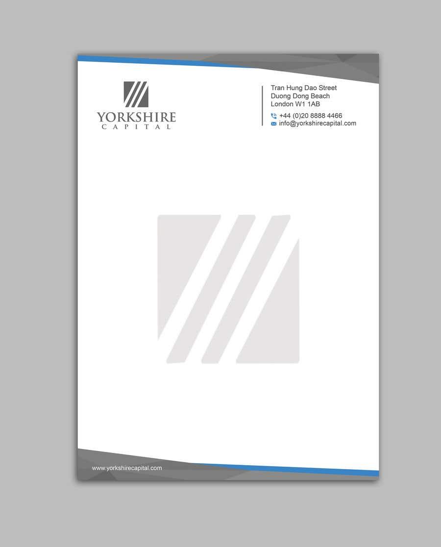 Konkurrenceindlæg #175 for Design a letterhead