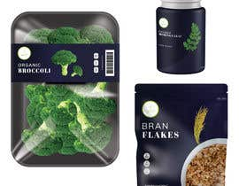 #45 for A complete organic premium private label packaging design by noneacid