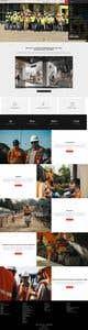 Konkurrenceindlæg #31 billede for Design a new homepage for a construction company.