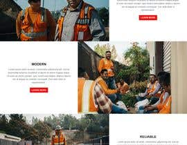#33 for Design a new homepage for a construction company. af safiur925