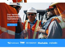 #9 for Design a new homepage for a construction company. af superbeing1