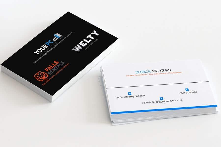 Konkurrenceindlæg #29 for Design Business Card (I have 3 companies)