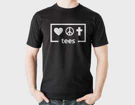mahabub14 tarafından Simple logo for a T-shirt business. Love Hope and Faith Tees için no 33