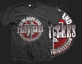 MdRobiulHOssin tarafından Simple logo for a T-shirt business. Love Hope and Faith Tees için no 55