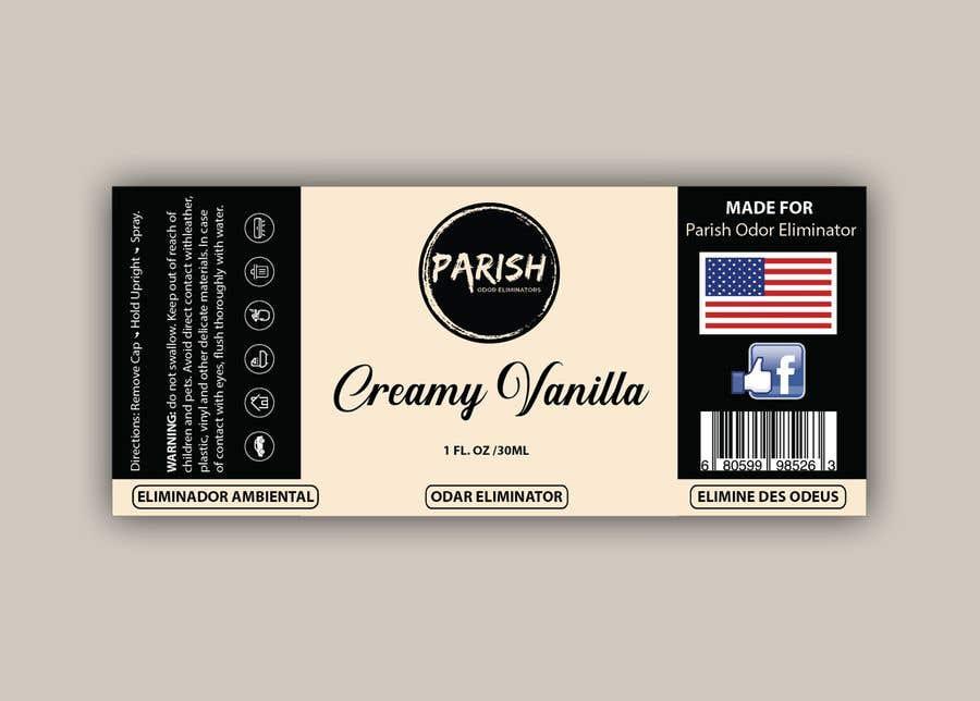 Penyertaan Peraduan #21 untuk new fresh air label design