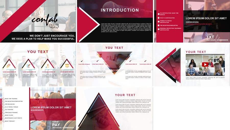 Inscrição nº 42 do Concurso para Powerpoint Design