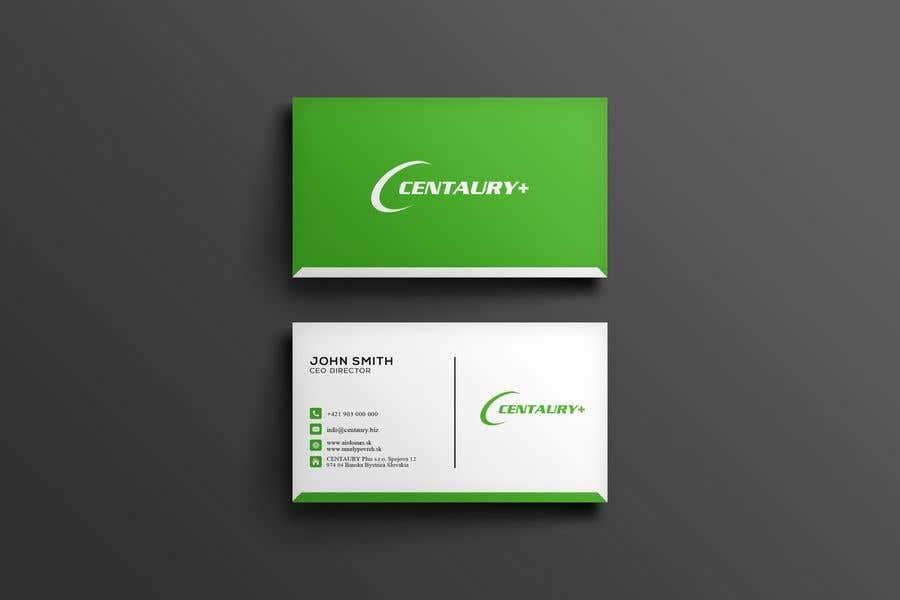 Kilpailutyö #247 kilpailussa Business card design