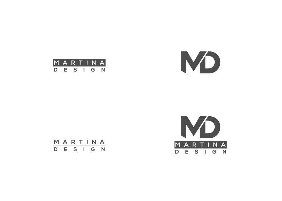 Bài tham dự cuộc thi #71 cho MD Fashion designer logo
