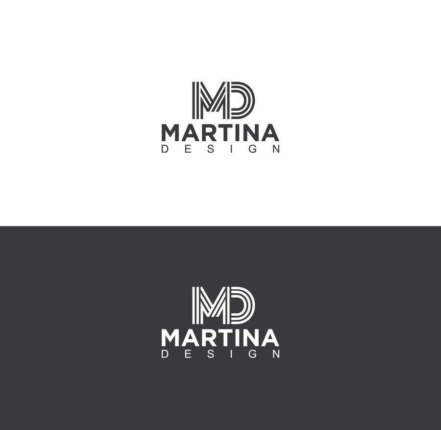 Bài tham dự cuộc thi #124 cho MD Fashion designer logo