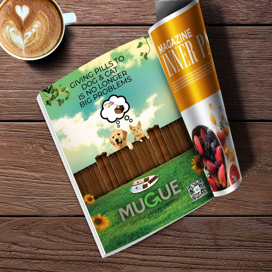 Konkurrenceindlæg #13 for Build me an advertising for a Veterinary Magazine