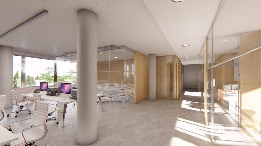 Proposition n°8 du concours interior design for Office