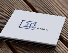 DesignExpertsBD tarafından Design a logo for my works. Name is 3D Artist aman. için no 5