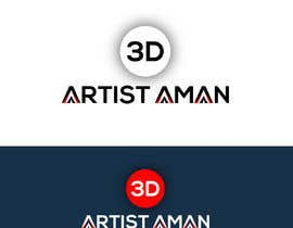 NajirIslam tarafından Design a logo for my works. Name is 3D Artist aman. için no 18