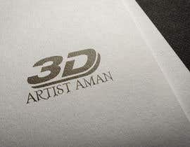 zahidshovon tarafından Design a logo for my works. Name is 3D Artist aman. için no 15