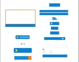 nº 3 pour Design Some Icons and Buttons for Website par kareemRmadan