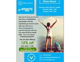 #79 para Advertisement for Health Store flyer por Rajib1688