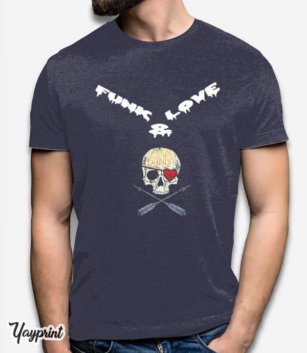 Penyertaan Peraduan #122 untuk Design a T-Shirt for www.FunkandLove.com