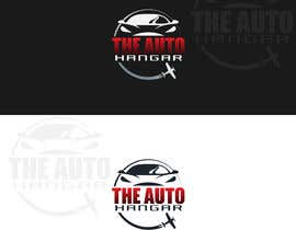 #330 para Unique logo for an auto dealership in an airport hangar! por jarich946