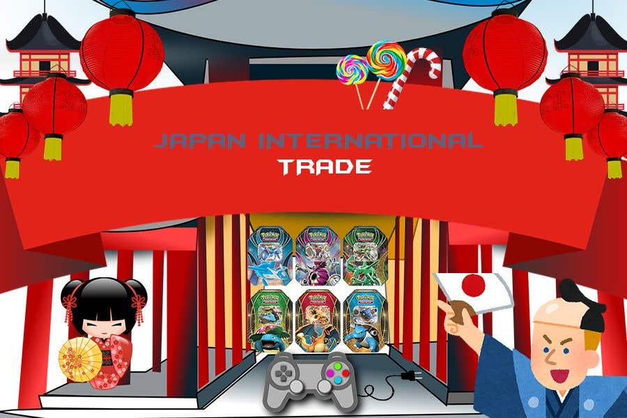 Inscrição nº 13 do Concurso para website banner design + possible additional extra work - Trading cards / Japanese goods