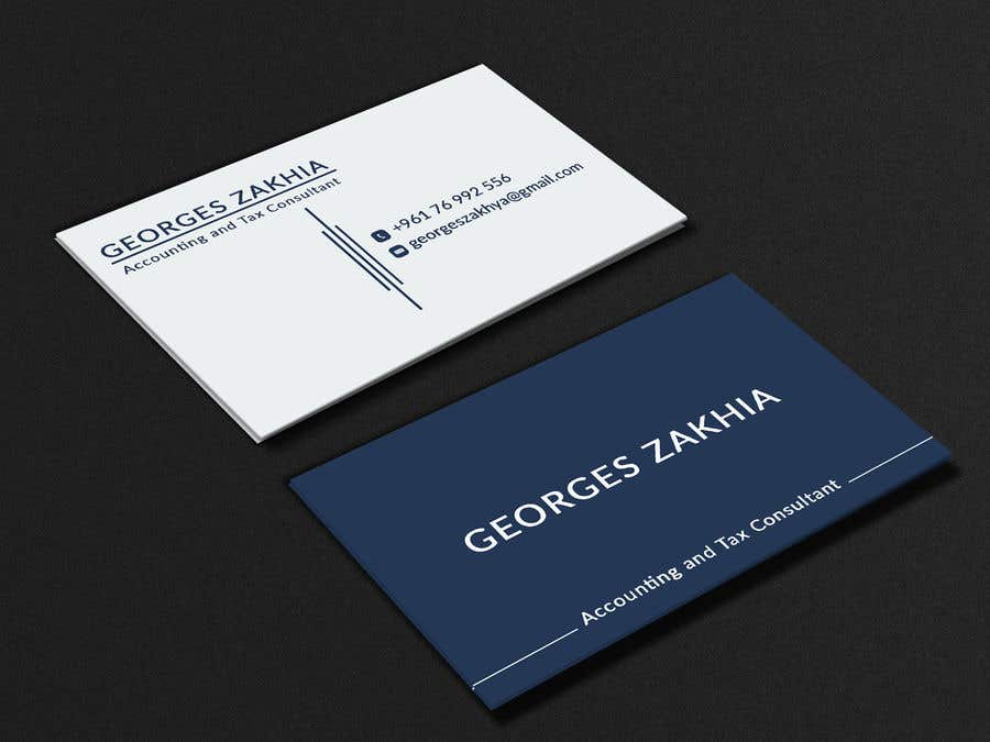 Design A Professional Business Card For