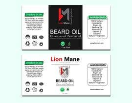 "#28 para I need to design a label for my beard oil brand. The brand is called ""Lion Mane"". por saminaakter20209"