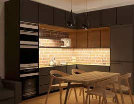 #10 untuk Modern kitchen design, with elements of loft style. oleh ssquaredesign