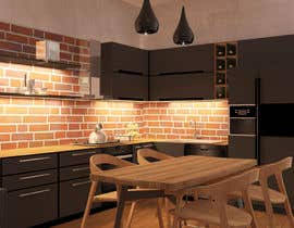 #15 untuk Modern kitchen design, with elements of loft style. oleh ssquaredesign