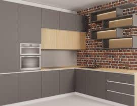 #14 untuk Modern kitchen design, with elements of loft style. oleh GagiLupic