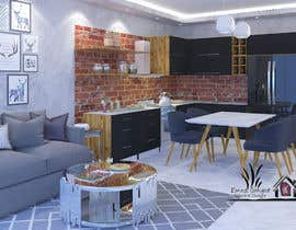 #31 untuk Modern kitchen design, with elements of loft style. oleh emadbahgat888