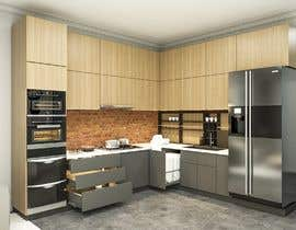 #8 untuk Modern kitchen design, with elements of loft style. oleh roarqabraham