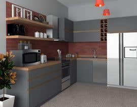 #21 for Modern kitchen design, with elements of loft style. by achfoe