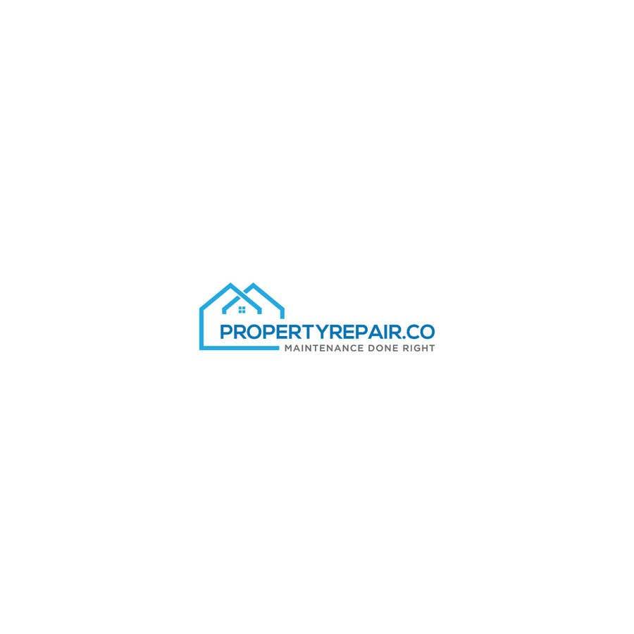 Penyertaan Peraduan #236 untuk Logo design for property repair